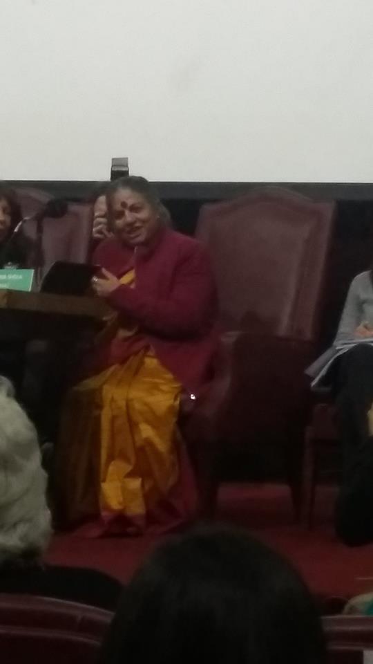 Vandana Shiva en Buenos Aires
